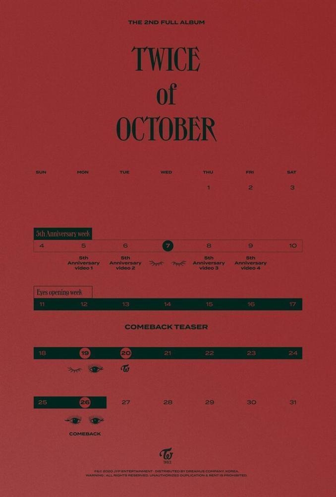 Không thể kém cạnh BlackPink, TWICE chính thức thông báo về full album ngay tháng 10 này!-2