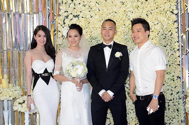 Ngọc Trinh nhiều lần chiếm spotlight cô dâu vì mặc quá nổi bật-6