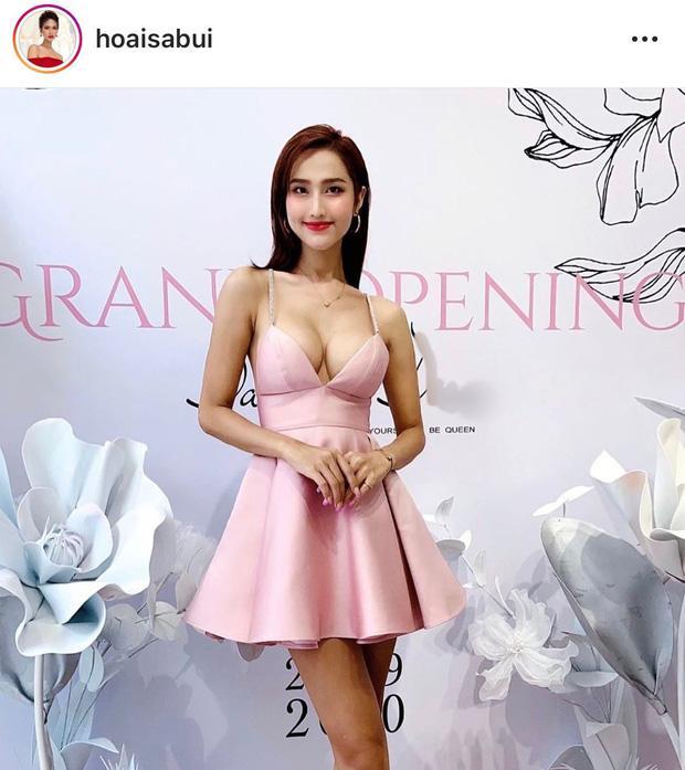 Hoa hậu chuyển giới Hoài Sa khoe ngực đơ như quả bóng-1