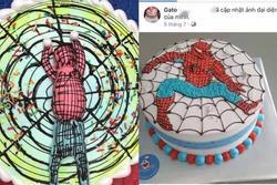 Đặt bánh kem sinh nhật hình người nhện trên mạng, kết quả nhận về hóa 'hình nhân thế mạng'