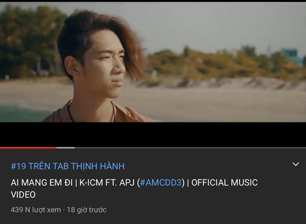 24 tiếng trôi qua, MV mới của K-ICM chưa đạt nổi 1 triệu views-2