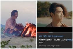 24 tiếng trôi qua, MV mới của K-ICM chưa đạt nổi 1 triệu views