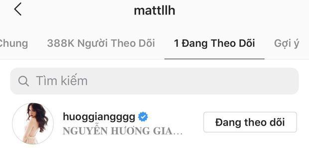 Hương Giang gia nhập hội chỉ theo dõi mình anh, tài khoản 3 triệu follow chỉ care mỗi Matt Liu-4