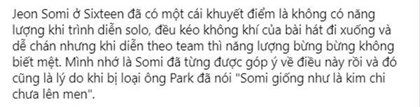 Thiên thần lai Jeon Somi chắc cả đời phải chịu mang nickname bình hoa vô cảm-3