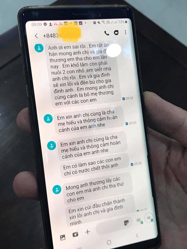 Tin nhắn xin lỗi của phụ huynh đánh cháu bé mầm non ở Lào Cai: Xin tha cho em lần này-3