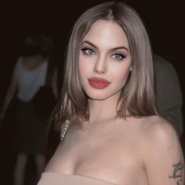 Rần rần hình Angelina Jolie xinh đẹp kiều diễm nhưng hóa ra chỉ là một cú lừa-2
