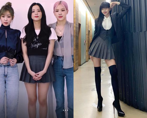 Nghi án Lisa và Jisoo diện chung váy: Đôi chân dài như chỉnh ảnh quá đà khiến dân tình choáng nặng-6