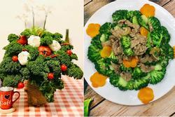 Hội chị em trổ tài cắm hoa bằng rau củ đẹp lạ, chơi chán thì mang nấu ăn