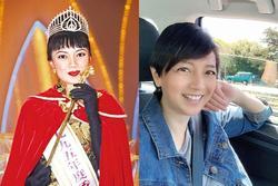 Hoa hậu Hong Kong bị chê xấu, từng cầm cố vương miện trả nợ bây giờ ra sao?