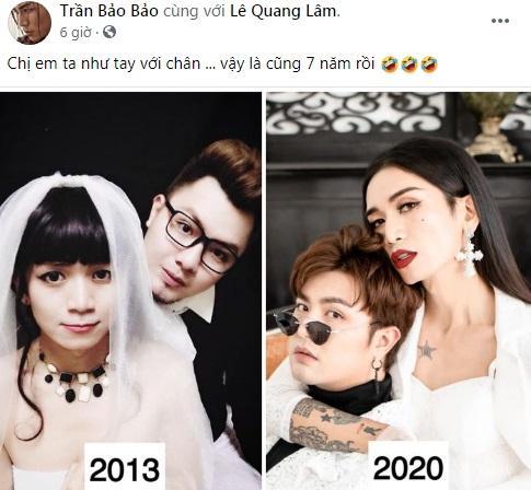 BB Trần hoài niệm mối tình 7 năm với bạn trai Lê Quang Lâm-1