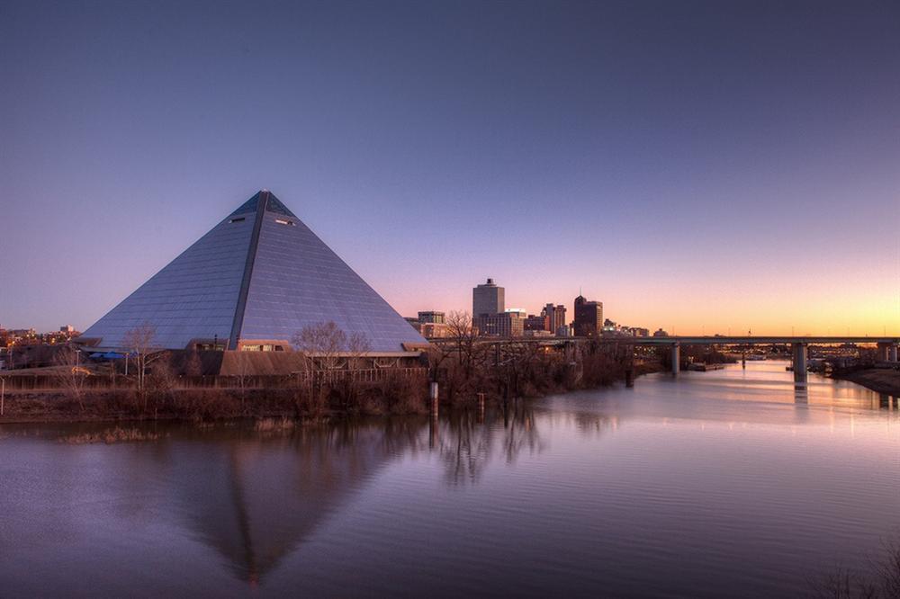 Vẻ đẹp của các kim tự tháp thời hiện đại-3