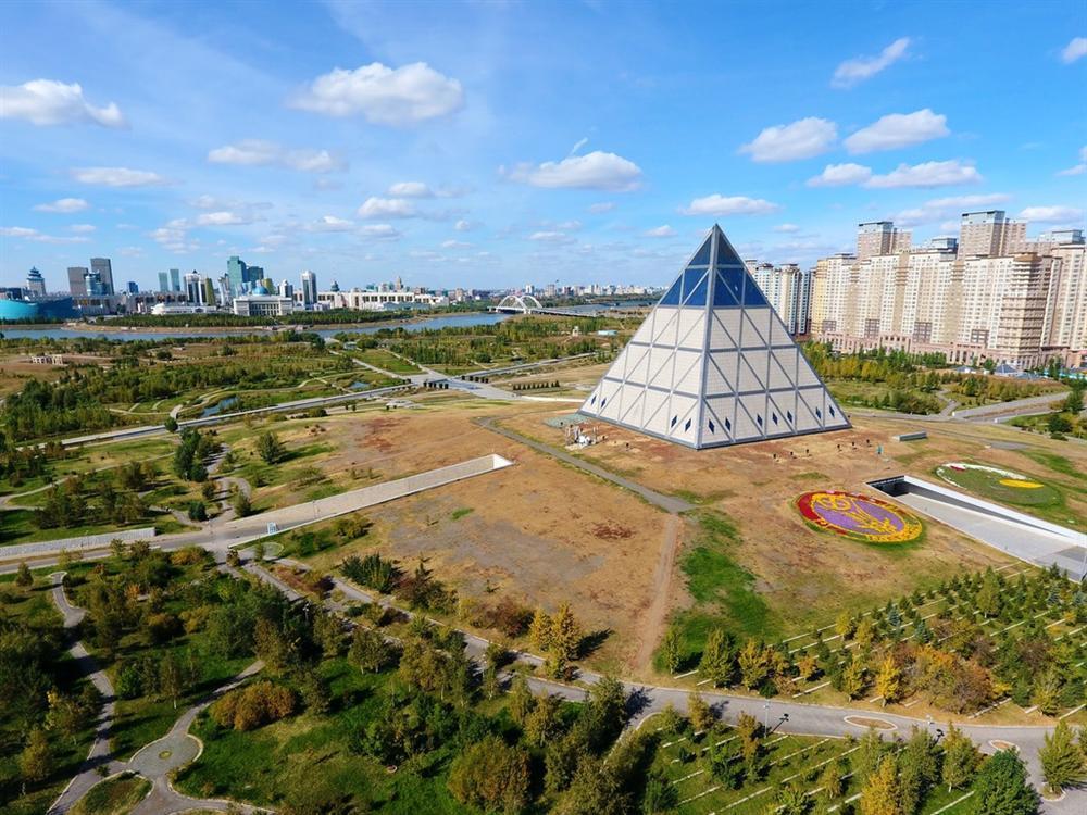 Vẻ đẹp của các kim tự tháp thời hiện đại-5