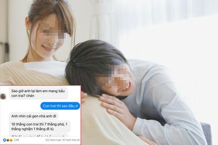 Chồng bị vợ dằn hắt chỉ vì khiến vợ mang bầu con trai, lý do đằng sau mới tức cười