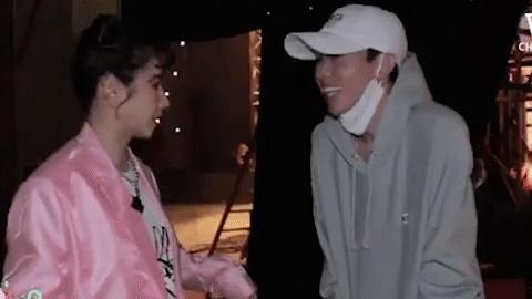 Hồng Thanh trốn chui trốn nhủi vào hậu trường Rap Việt để gặp bằng được bạn gái DJ Mie-5
