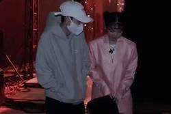Hồng Thanh trốn chui trốn nhủi vào hậu trường Rap Việt để gặp bằng được bạn gái DJ Mie
