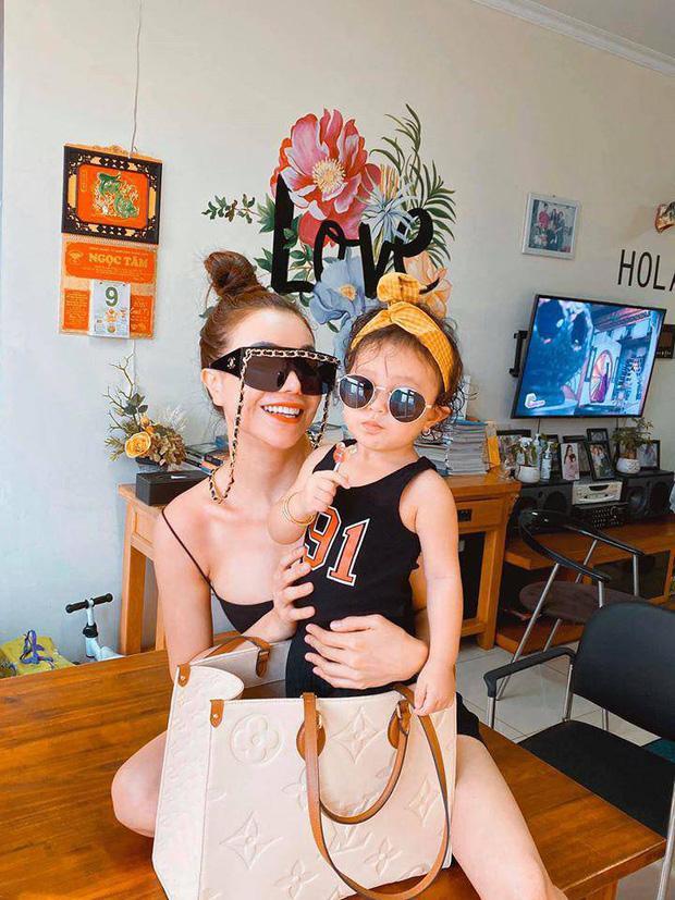 Sao Việt chăm con vẫn không quên chơi đồ hiệu: Sắm toàn túi nghìn đô để đựng bỉm sữa-5