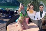 Cô dâu 200 cây vàng ở Nam Định được chồng tổ chức tiệc 20/10 hoành tráng tại nhà riêng-7