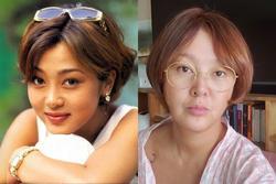 Á hậu Hàn Quốc từng đi tù vì dùng chất cấm lộ nhan sắc già nua