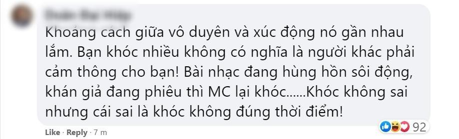 """Trấn Thành chính thức lên tiếng sau ồn ào khóc tại 'Rap Việt': """"Thành thật xin lỗi nếu việc Trấn Thành khóc có làm quý vị khó chịu"""""""