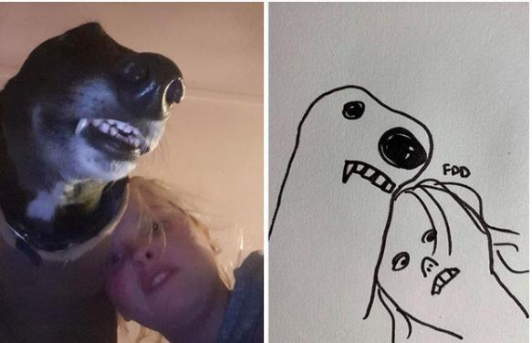 Bức tranh xấu điên đảo đánh bại mọi đối thủ, giật giải quán quân cuộc thi vẽ chó-4