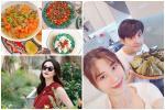 3 nàng dâu showbiz Việt giàu 'nứt vách' vẫn hì hục vào bếp nấu ăn lúc bụng bầu khệ nệ