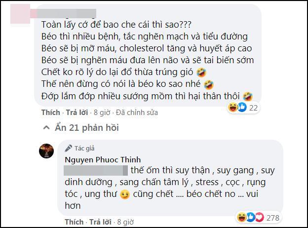 Noo Phước Thịnh bắt trend béo khỏe béo đẹp mà khiến fan ruột giận tím người-2