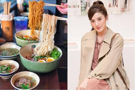 Á hậu Huyền My mê mẩn hương vị tô hủ tiếu Sài Gòn, ăn đêm cũng chẳng ngại