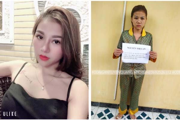 Ngã ngửa nhan sắc hot girl Tuyên Quang trước và sau khi bị bắt vì điều hành đường dây bán dâm liên tỉnh-1