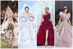 SAO ĐẸP nhất tuần: Minh Tú hóa công chúa trở lại sàn catwalk sau 7 tháng cách ly