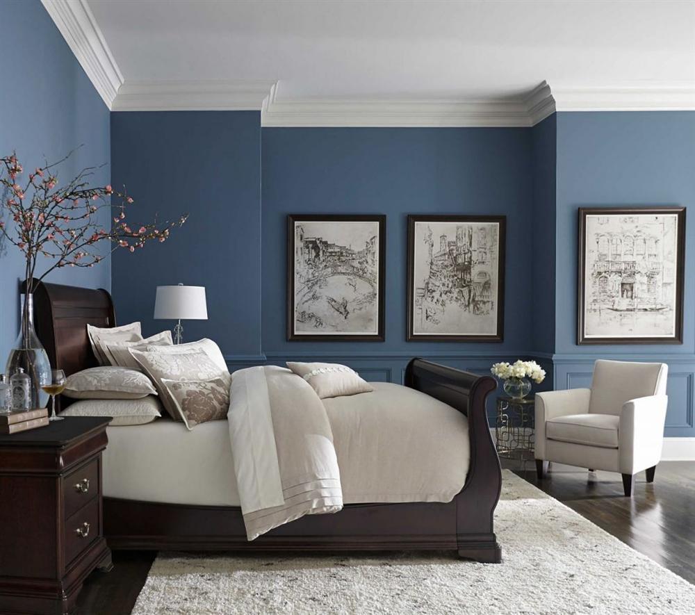 Màu sơn phòng ngủ vợ chồng hợp phong thủy-1