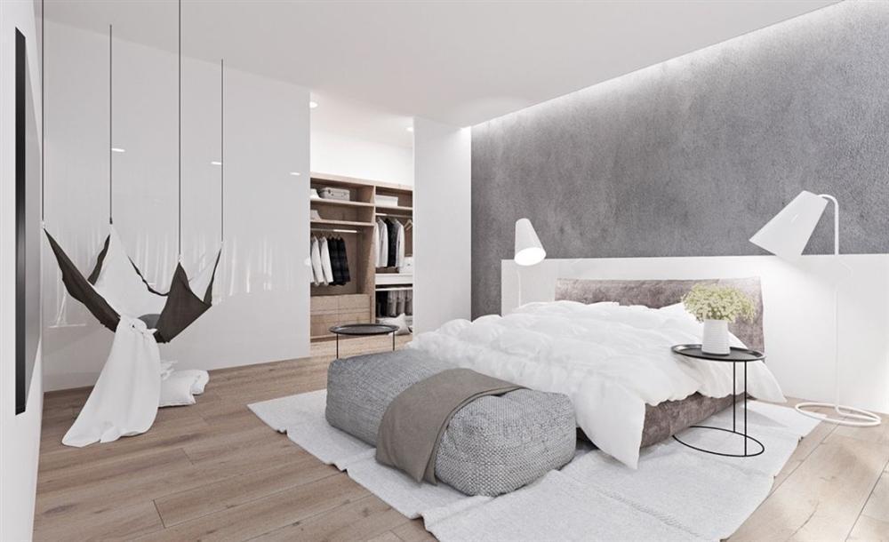 Màu sơn phòng ngủ vợ chồng hợp phong thủy-4