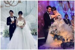 Vợ cũ cầu thủ Phan Thanh Bình kết hôn với chồng kém 9 tuổi siêu điển trai