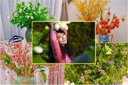 Cắm hoa lạ chơi chơi, mẹ Hà Nội biến căn nhà thành chợ hoa 'xịn'
