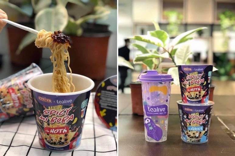 Món mì tôm trà sữa trân châu ở Malaysia-1