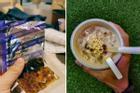 Món mì tôm trà sữa trân châu ở Malaysia