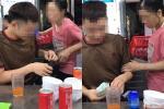Dụ cô gái bán hàng rong thơm má trai lạ, nhóm thanh niên khiến dân tình sôi máu
