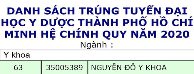 Đặt tên con Nguyễn Đỗ Y Khoa, bố mẹ nhận kết quả bất ngờ sau 18 năm-1