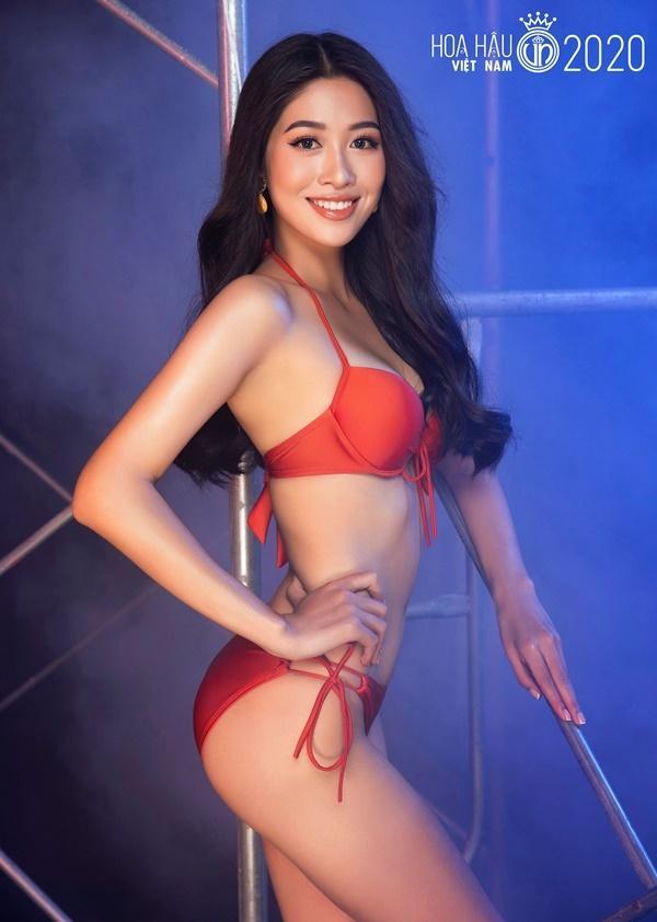 Thí sinh vòng bán kết Hoa hậu Việt Nam 2020 khoe body nóng bỏng với bikini-1
