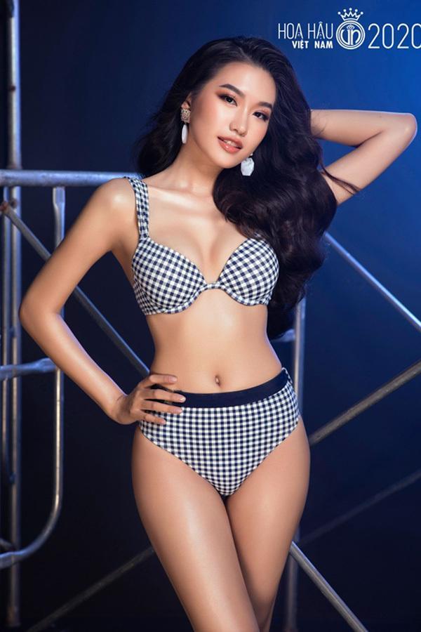 Thí sinh vòng bán kết Hoa hậu Việt Nam 2020 khoe body nóng bỏng với bikini-8