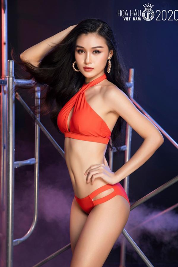 Thí sinh vòng bán kết Hoa hậu Việt Nam 2020 khoe body nóng bỏng với bikini-9