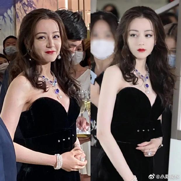 Địch Lệ Nhiệt Ba lộ ảnh không photoshop, bị nhận xét già chát so với tuổi 28-4