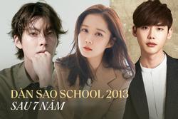 Dàn sao 'School 2013' sau 7 năm: Kim Woo Bin chữa ung thư, Jang Nara trẻ như ma cà rồng?