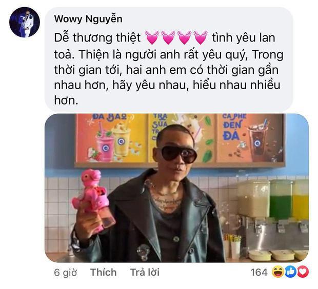 Rhymastic đăng hình thiết lập trạng thái hòa bình mới với Wowy sau gần 1 tuần căng thẳng vì drama Rap Việt-3