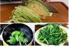 Những sai lầm cực nguy hiểm khi ăn rau xanh mà nhiều người mắc phải