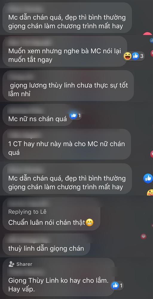 Lương Thùy Linh liên tục nói vấp khi làm MC bán kết Hoa hậu Việt Nam 2020-5