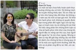 Bị chỉ trích khi viết thơ tình tặng bạn gái doanh nhân, Chí Trung đáp trả tiện thể nói chuyện kết hôn lần 2