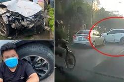 Kinh hoàng lái xe Mazda đâm liên hoàn 10 phương tiện, 1 người tử vong