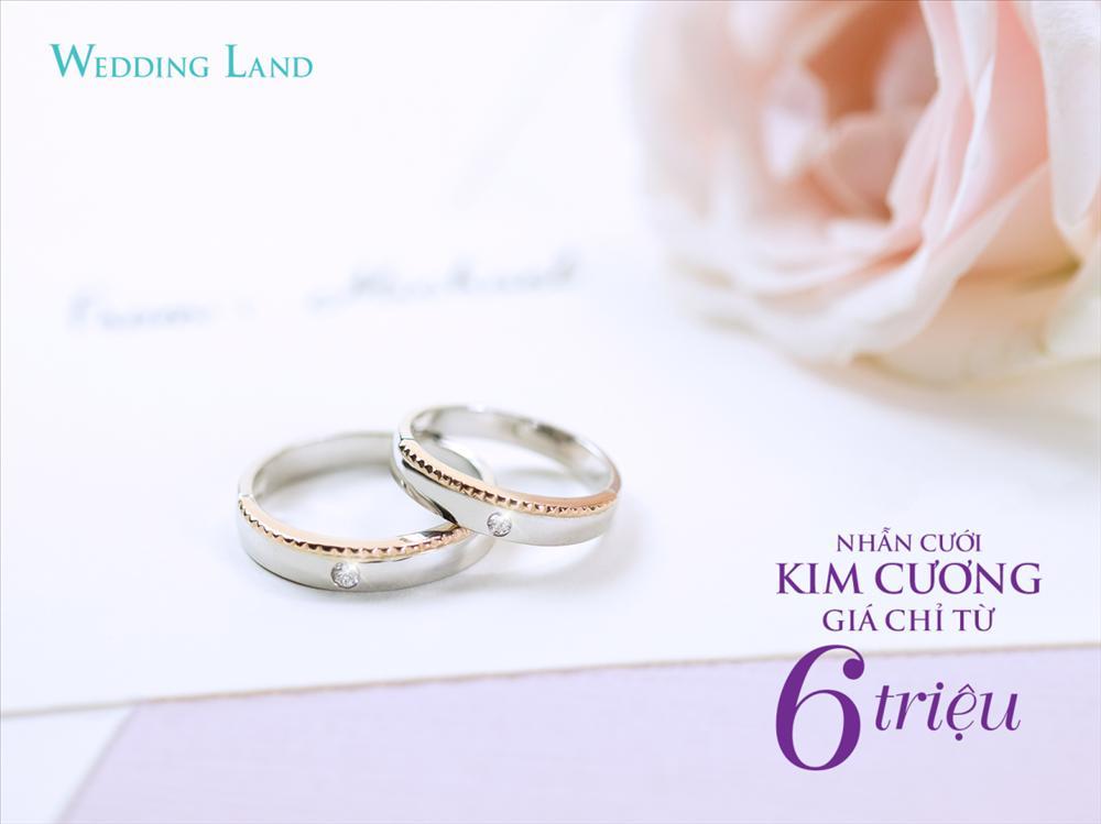 DOJI gây sốt với nhẫn cưới kim cương giá 6 triệu đồng-1