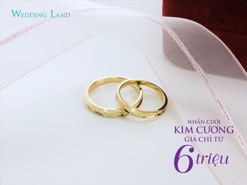DOJI gây sốt với nhẫn cưới kim cương giá 6 triệu đồng-2