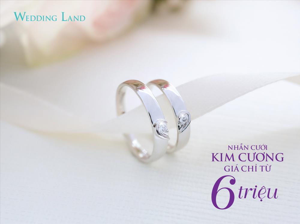 DOJI gây sốt với nhẫn cưới kim cương giá 6 triệu đồng-3